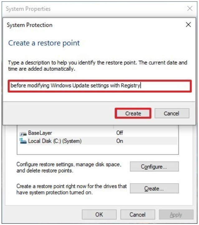 2.5 system restore