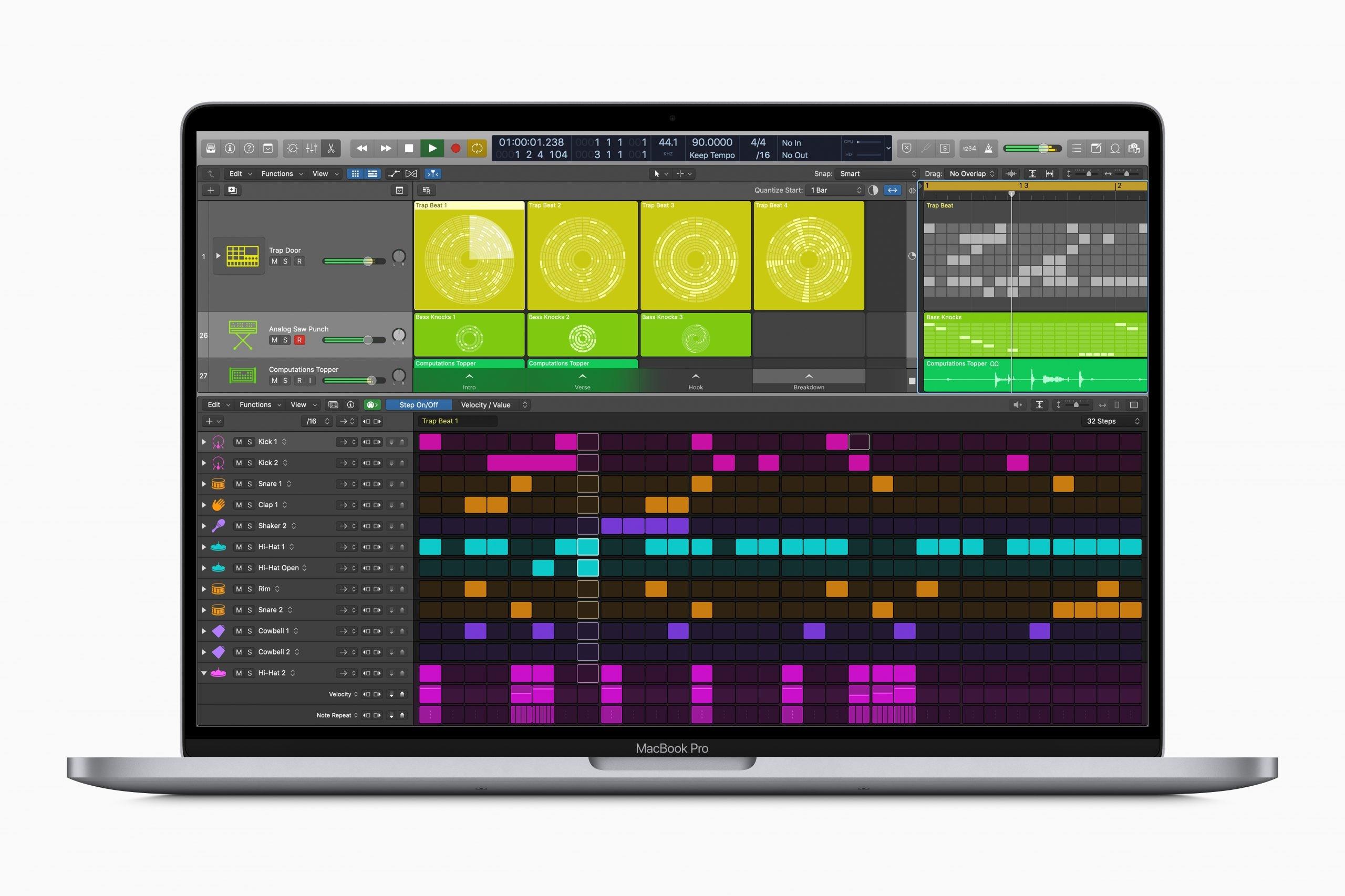 Logic Pro X 10.5 MacBook Pro