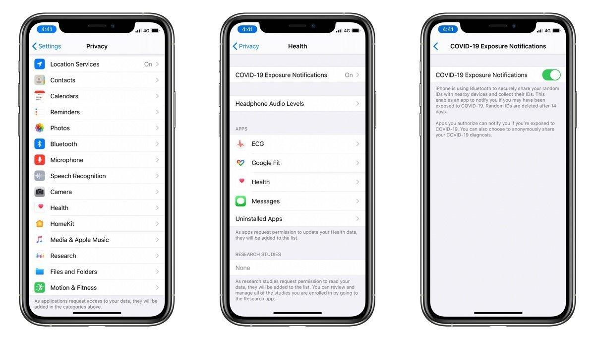 iOS 13.5 COVID-19 Exposure Notifications