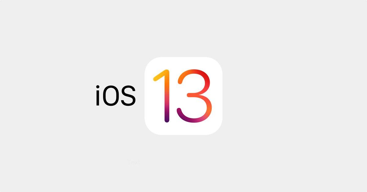 iOS-13