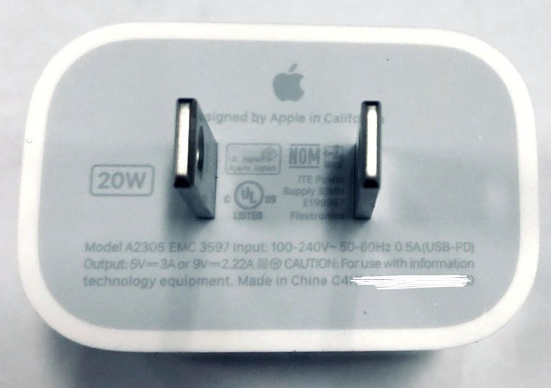 20W apple iphone 12 charger