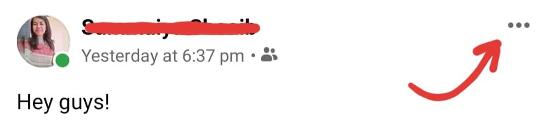 Facebook mute