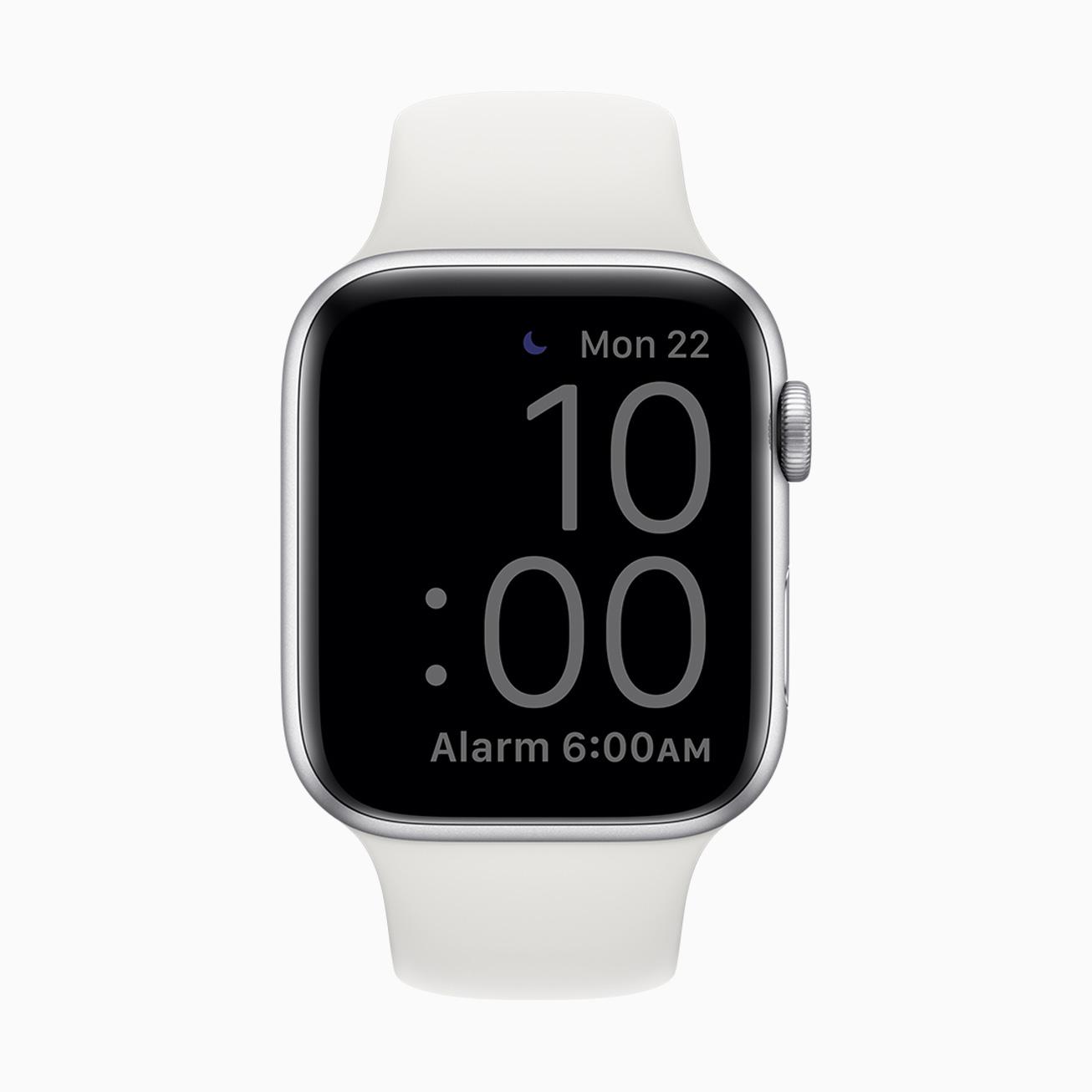 Watch OS 7 sleep mode