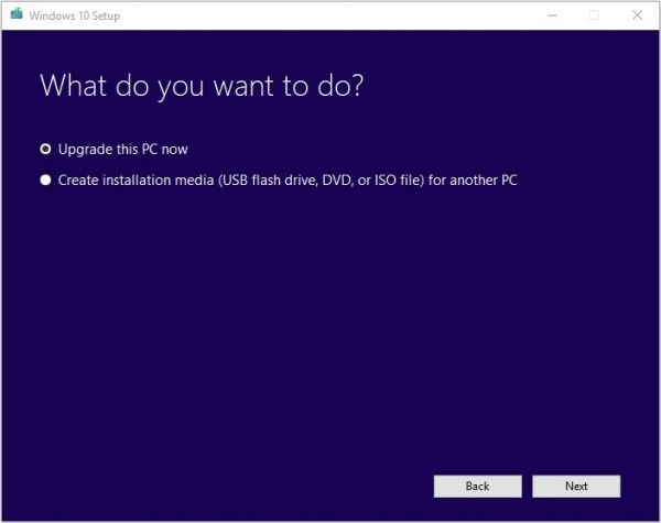 Windows Media Creation Tool 4