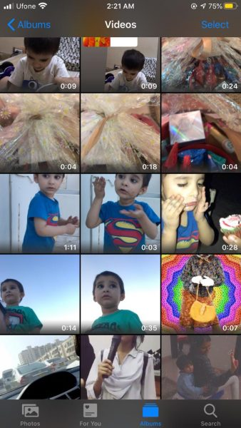 crop videos on iPhone 2