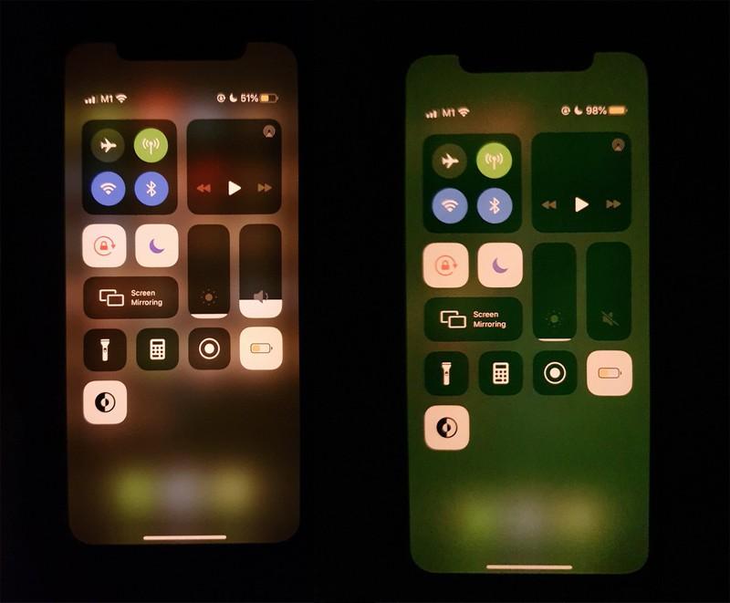 iPhone 11 Green Tint