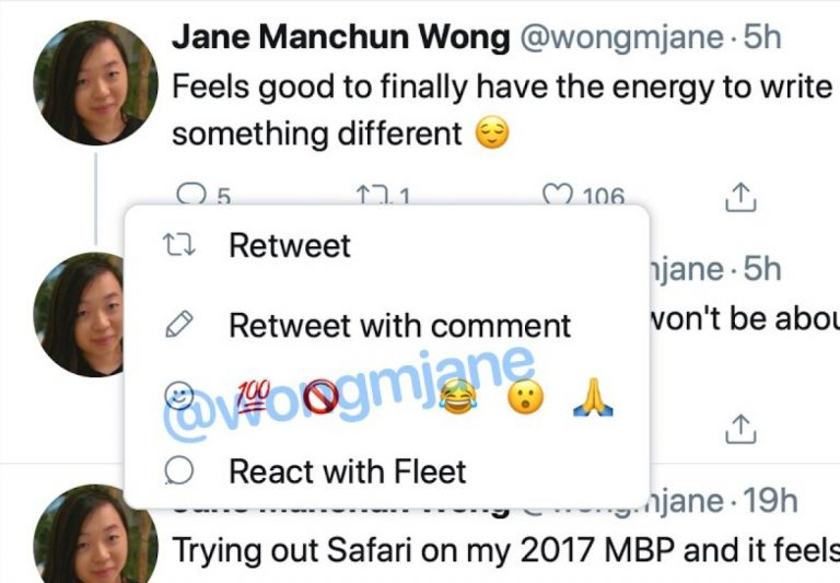 twitter emoji reactions 1