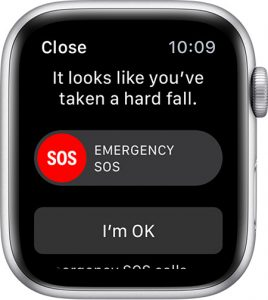 Fall Detection Apple Watch