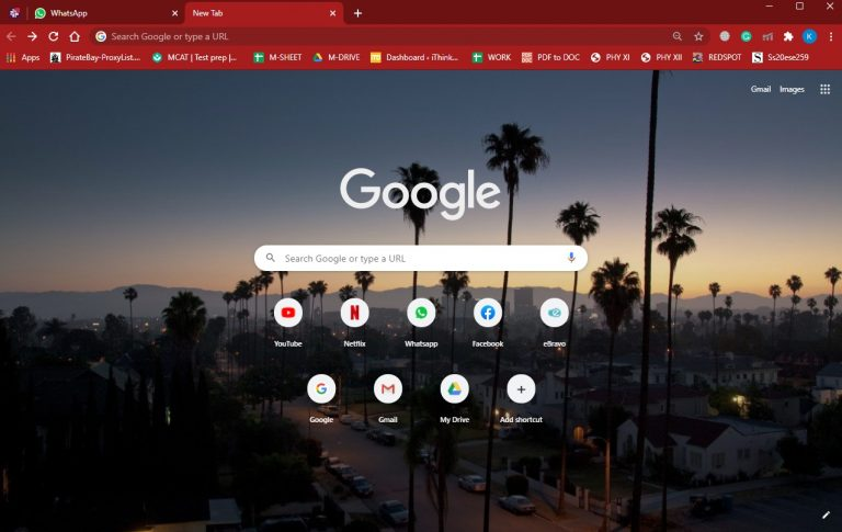 How to set google chrome background 8