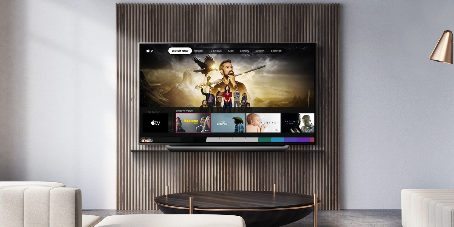 apple tv new updates vizeo and lg1