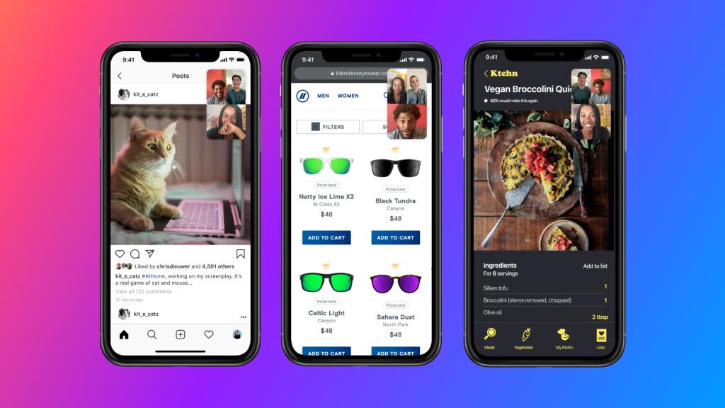 facebook messenger screen sharing feature
