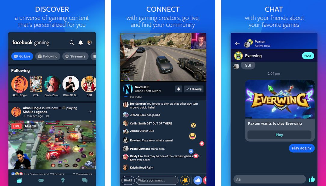 Finally Facebook Gaming app launches on iOS without games