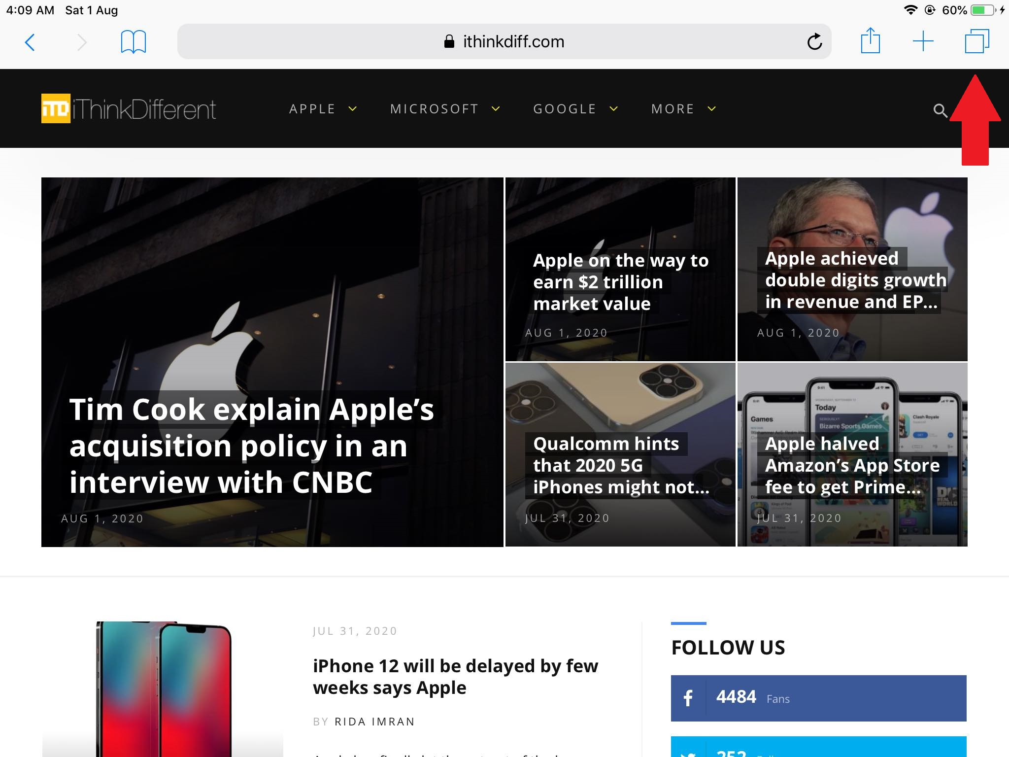 How to use Safari private browsing mode on an iPhone or iPad
