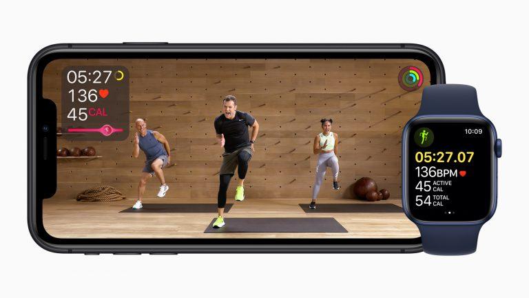 Fitness Plus iPhone Apple Watch